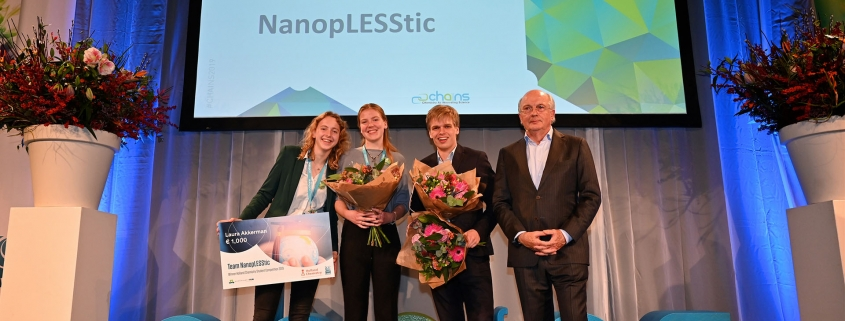 Team NanopLESStic Holland Chemistry Student competition 2019